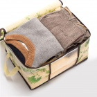 Visible Quilt Clothes Storage Bag - Green (100L)
