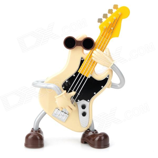 C1GL Guitar Doll Music Box - Yellow + Grey + Multi-Colored