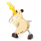 YL2015 Guitar Doll Music Box - Yellow + Grey + Multi-Colored
