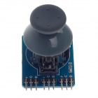 PS2 Joystick Game Controller Module for Arduino - Blue + Black + Grey