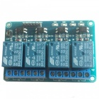Produino DIY PC817 4-Channel 5V Relay Module w/ Optocoupler Extension Board - Blue
