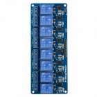 Produino DIY PC817 8-Channel 5V Relay Module w/ Optocoupler Extension Board - Blue