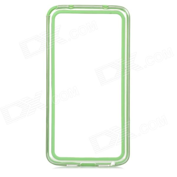 S-What Protective PC + TPU Bumper Frame Case for LG G2 - Green + Transparent 1pcs 1217 1217k 85x150x28 111217 mochu self aligning ball bearings tapered bore double row high quality