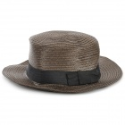 DG0091 Rundungs ​​Top Hat / Strand-Hut - Kaffee
