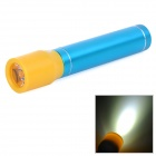 "N19 Mobile ""2600mAh"" Power Bank / 1-LED White Flashlight - Light Blue"