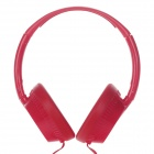 KEEKA KE-500 Vogue Bicycle Wheel Style Stereo Headband Earphone - Red