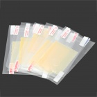 Alta Clear Protective Frente PET + Guarda Negra Film Set para IPHONE 5 / 5S - Transparente (5 Set)