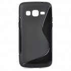 """S"" Style Protective TPU Back Case for Samsung Galaxy Express 2 G3815 - Black"