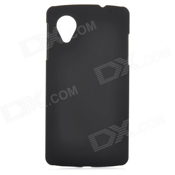 M-122402 Quicksand Style Protective PC Back Case for Google Nexus 5 - Black аксессуар чехол huawei y5 2017 with love moscow кожаный black 10232