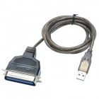 XINDAYING 36 broches USB IEEE1284 câble d'adaptateur d'impression - noir