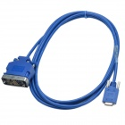 CAB-SS-V35FC DTE Female to DCE Smart Serial Cable - Blue