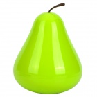 Creative Pear Style Goods Management Storage Tank - Green