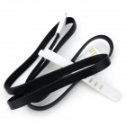 HM-33 USB 2.0 to Micro USB Charging / Data Cable for Samsung - Black + White (90cm)