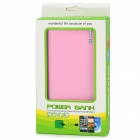 """22000mAh"" Power Bank w/ Dual USB / LED Flashlight for Tablet PC - Pink"