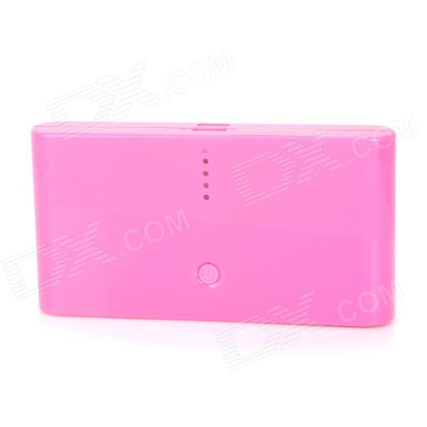 Mobile 20000mAh Power Bank w/ Dual-USB for Amazon Kindle Fire / Paperwhite - Pink portable 6000mah power bank w flashlight for mobile tablet pc more pink white