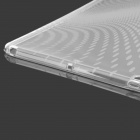 Raindrop Style Protective TPU Back Case for IPAD AIR - Translucent White