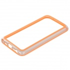 S-What Protective PC + TPU Bumper Frame Case for LG G2 - Orange + Transparent