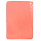 Raindrop Style Protective TPU Back Case for IPAD AIR - Translucent Red