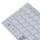 R8 1928 2.4G Wireless 99-key Ultra-Slim Keyboard + 1000DPI Wireless Mouse Set - White