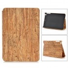 Wood Grain Style Protective PU + PC Flip-Open Case for IPAD Mini 2 - Wooden