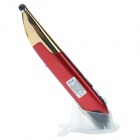 CHEERLINK 2.4GHz Wireless Internet Surfing Browsing Pen Mouse w/ Stylus Pen Point - Red + Golden