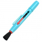Dual Carbon Head Retractable Cleaning Pen for Camera's Lens - Blue + Red