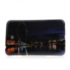 The Night Scenery of The London Eye Pattern Protective TPU Back Case for Samsung Galaxy Tab 3 P3200