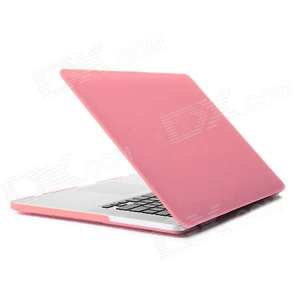 ENKAY Matte Protective Case for 13-inch MacBook Pro with Retina Display - Pink enkay matte protective case for 13 inch macbook pro with retina display green