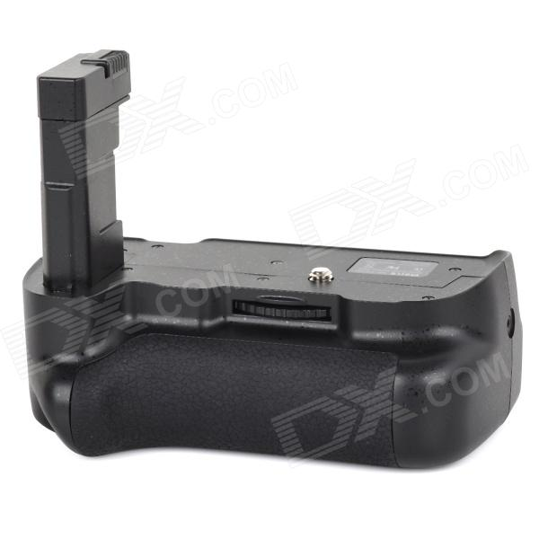MEIKE MK-D5300 Nikon EL-14 Battery Handle for Nikon D5300 DSLR - Black meike mk d750 battery grip pack for nikon d750 dslr camera replacement mb d16 as en el15 battery