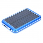 "S-What 6000T USB 5V ""8000mAh"" Li-ion Polymer Battery Power Bank w/ LED - Blue + Black"