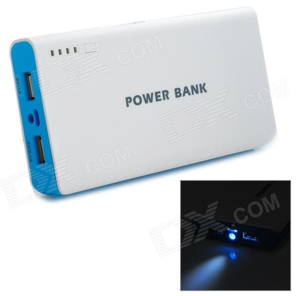 20000mah li ion battery dual usb power bank for iphone. Black Bedroom Furniture Sets. Home Design Ideas