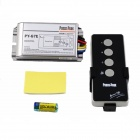 PY-G7E 1000Wx3 3-Channel RF Remote Double Control Design Switch - Silver + Black (200~240V)
