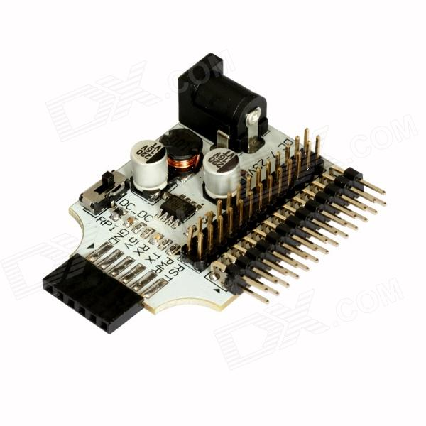 ChuangZhuo RPIGSM RPI Connection GSM / GPRS Adapter Develop Template for Raspberry Pi - White
