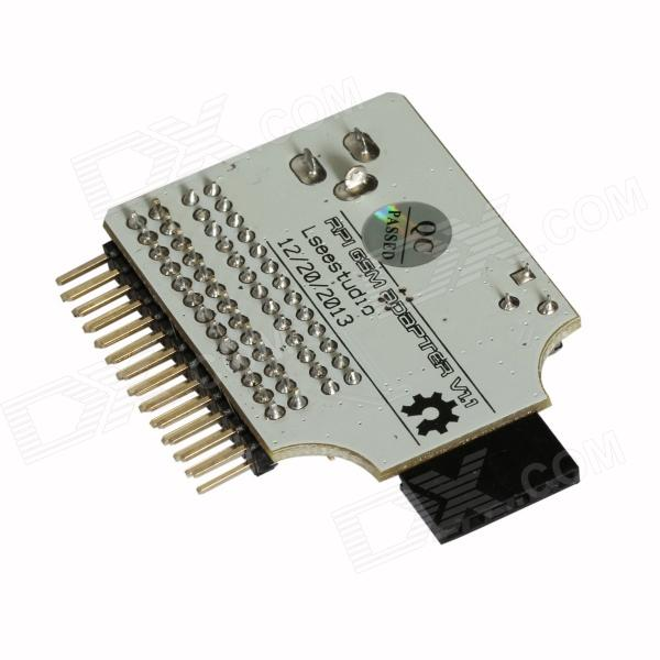 ChuangZhuo RPIGSM Raspberry Pi RPI Connection GSM / GPRS Adapter Develop  Template - White