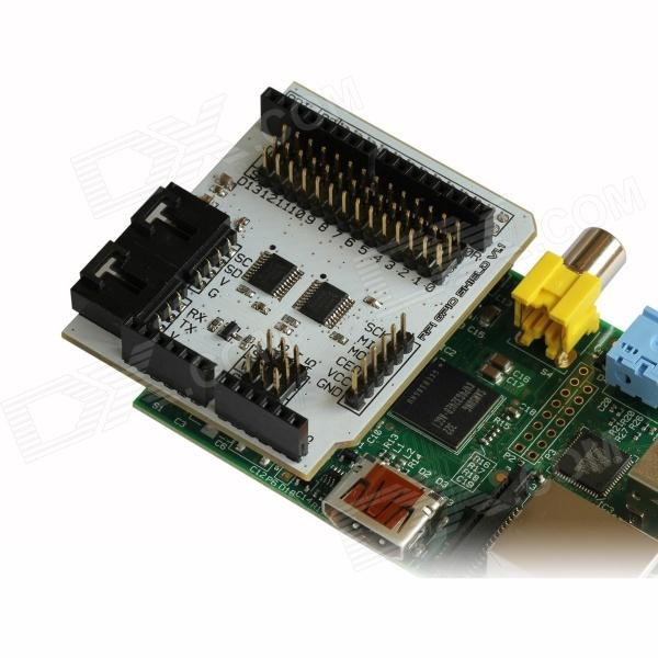 Shield rpi gpio for raspberry pi arduino