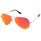 OREKA 3025 UV400 Protection High-Nickel Alloy Frame Polarized Sunglasses - Silver