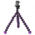 Universal Plastic Desktop Tripod for Digital Camera - Purple