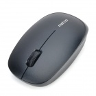 METOO E3 1600dpi LED Optical Wireless Mouse - Black (1 x AA)