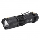 UltraFire SK68 100lm 1-LED Cool White Light 3-Mode Flashlight w/ CREE XR-E Q5 - Black