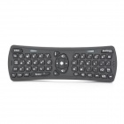 JKT JKT-0001 2.4GHz Wireless 3D Gyro Air Fly Mouse Keyboard - Black