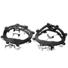HARLEM HL1088 Outdoor Ice Climbing / Alpinismo Sapatos Chain Cleat Crampons - Preto (Par)