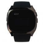 "RuiQ 1.5"" LCD Smartwatch Bluetooth V3.0 Watch Support Message Display, Answer Phone Calls - Black"