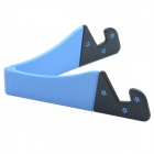 CHEERLINK Universal Desktop Stand for RETINA IPAD MINI / Cell Phone / Tablet PC - Black + Blue