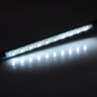 1W 10 LED 150lm Branco Bendable USB Azul claro + Antique Silver