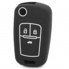 GEL1206 Protective Silicone Car Key Case for Buick - Black
