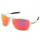 OREKA ox4029 UV400 Protection High-Nickel Alloy Frame Polarized Sunglasses - Silver