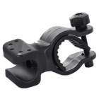 LSON LC-08 360 Degree Rotation Bicycle Holder for Flashlight - Black