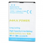 "3.8V ""4200mAh"" Battery for LG Optimus G Pro / F240K / F240S / F240L / LG E988 - White + Blue"