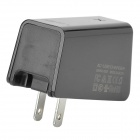 LDNIO 3-USB AC Power Charger Adapter for Cell Phone / Tablet PC + More - Black (US Plugs / 100~240V)