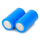 3.7V 500mAh rechargeable 16340 Batterie - Bleu (2 PCS)